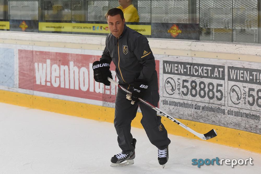 Eishockey, Österreich, Erste Bank Eishockey Liga, Vienna Capitals, Misha Donskov, Serge Aubin, Vegas Golden Nights