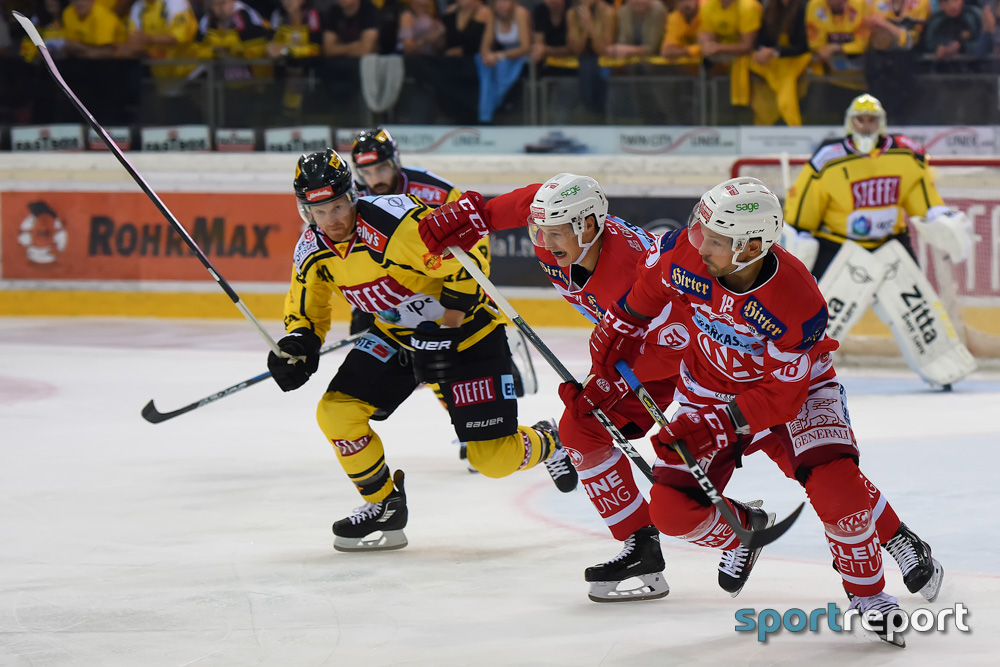 Eishockey, EBEL, Erste Bank Eishockey Liga, Vienna Capitals, KAC, KAC vs. Vienna Capitals