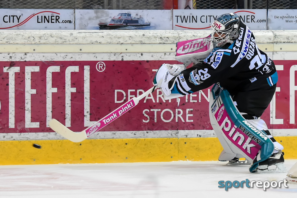 Eishockey, EBEL, Erste Bank Eishockey Liga, 8. Runde, Black Wings Linz, Fehervar, Black Wings Linz vs. Fehervar