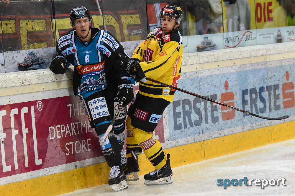 Eishockey, EBEL, Erste Bank Eishockey Liga, Black Wings Linz, Jake Dowell, Jonathan D'Aversa