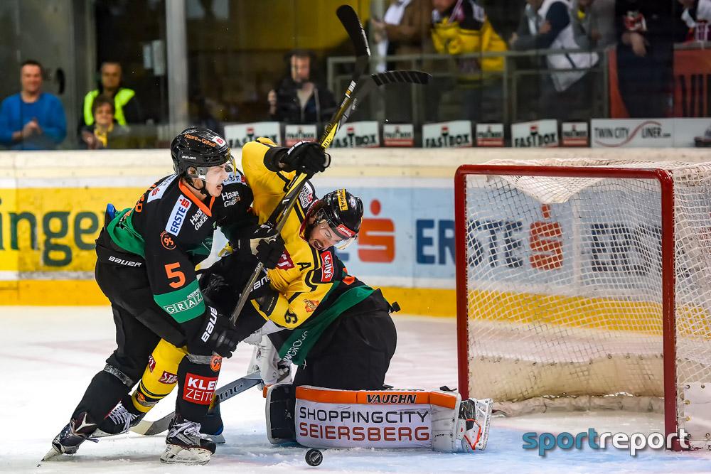 Eishockey, EBEL, Erste Bank Eishockey Liga, Vienna Capitals, Graz99ers, Graz99ers vs. Vienna Capitals