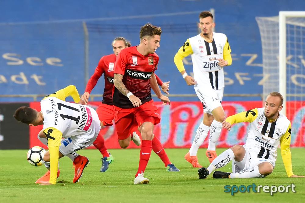 Fußball, Tipico Bundesliga, Admira Wacker, LASK