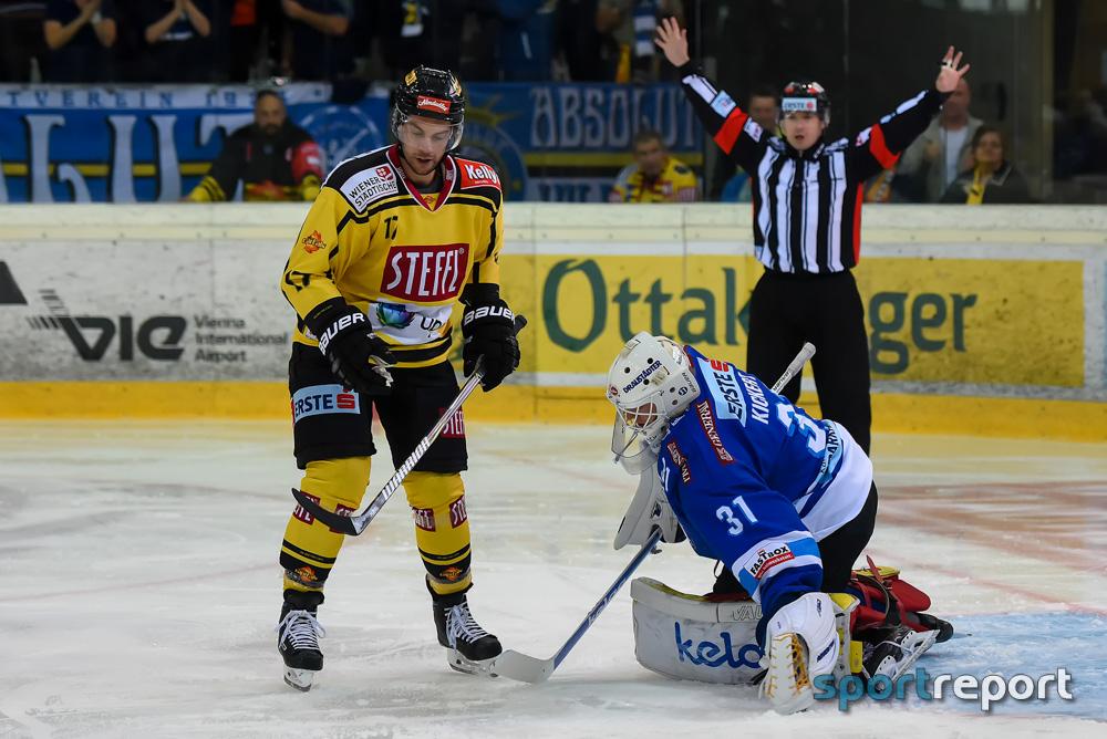 Eishockey, EBEL, Erste Bank Eishockey Liga, Vienna Capitals, VSV, Villach, VSV vs. Vienna Capitals