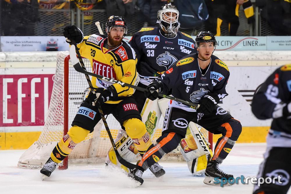 Eishockey, EBEL, Erste Bank Eishockey Liga, Vienna Capitals, Dornbirner EC, Dornbirner EC vs. Vienna Capitals