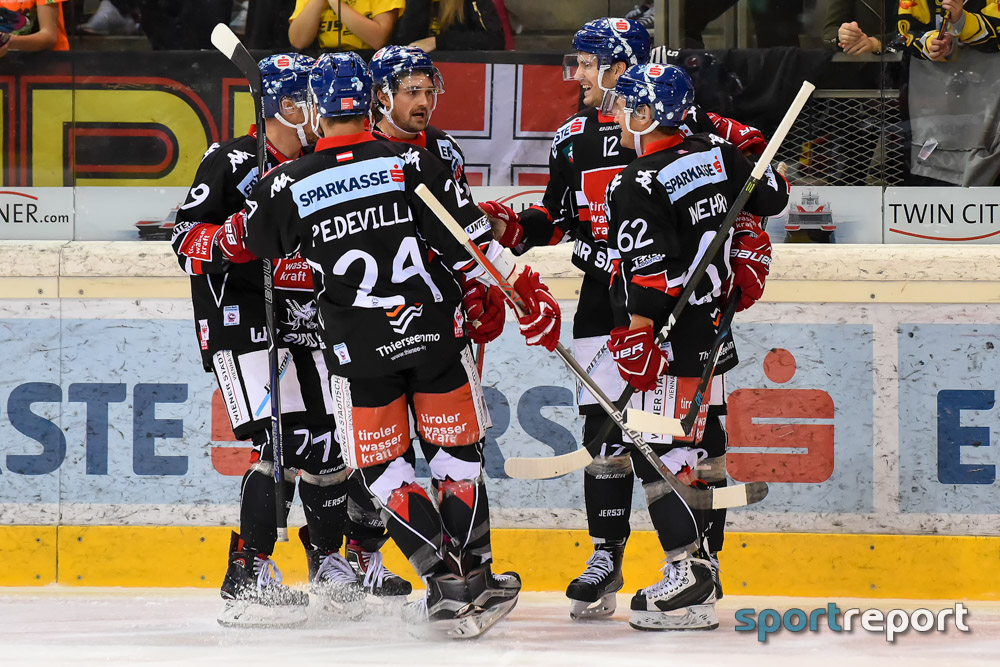 Eishockey, EBEL, Erste Bank Eishockey Liga, HC Innsbruck, VSV, VSV vs. HC Innsbruck