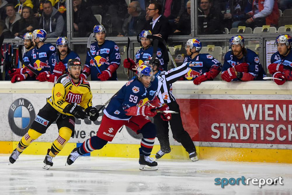 Eishockey, EBEL, Erste Bank Eishockey Liga, Albert Schultz-Eishalle, Kagran, Wien, Vienna Capitals, Red Bull Salzburg, Vienna Capitals vs. Red Bull Salzburg
