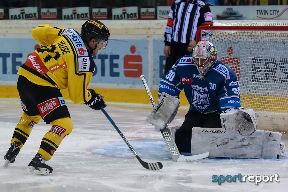 Eishockey, EBEL, Erste Bank Eishockey Liga, Vienna Capitals, Fehervar, Albert-Schultz-Eishalle, Vienna Capitals vs. Fehervar