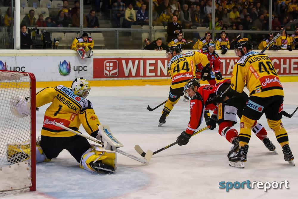 Eishockey, EBEL, Erste Bank Eishockey Liga, Vienna Capitals, Orli Znojmo, Albert-Schultz-Eishalle, Vienna Capitals vs. Orli Znojmo, #VICZNO