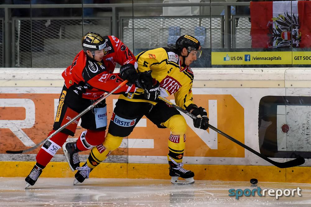 Eishockey, EBEL, Erste Bank Eishockey Liga, Vienna Capitals, Orli Znojmo, Stephanstag, Orli Znojmo vs. Vienna Capitals
