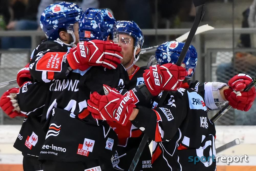 Eishockey, EBEL, Erste Bank Eishockey Liga, HC Innsbruck, Innsbrucker Haie, KAC, KAC vs. HC Innsbruck