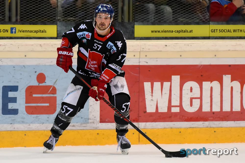 Eishockey, EBEL, Erste Bank Eishockey Liga, HC Innsbruck, Innsbrucker Haie, KAC, Medvescak Zagreb