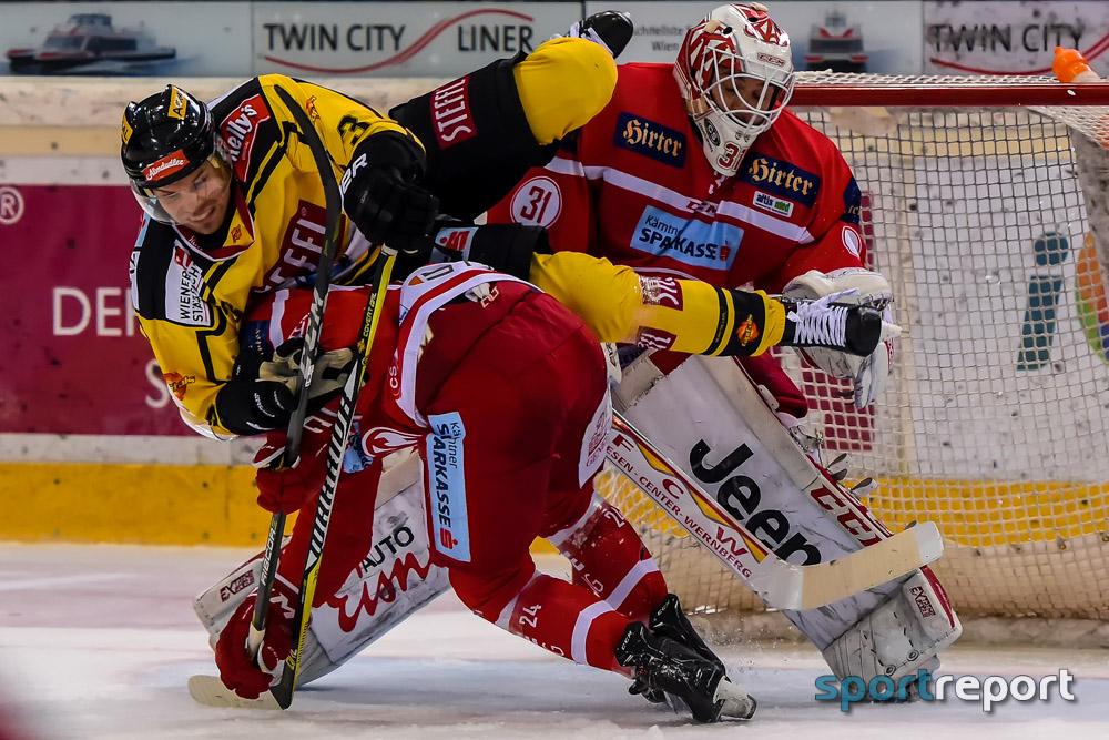 Eishockey, EBEL, Erste Bank Eishockey Liga, Vienna Capitals, KAC, Vienna Capitals vs. KAC, Albert-Schultz-Eishalle