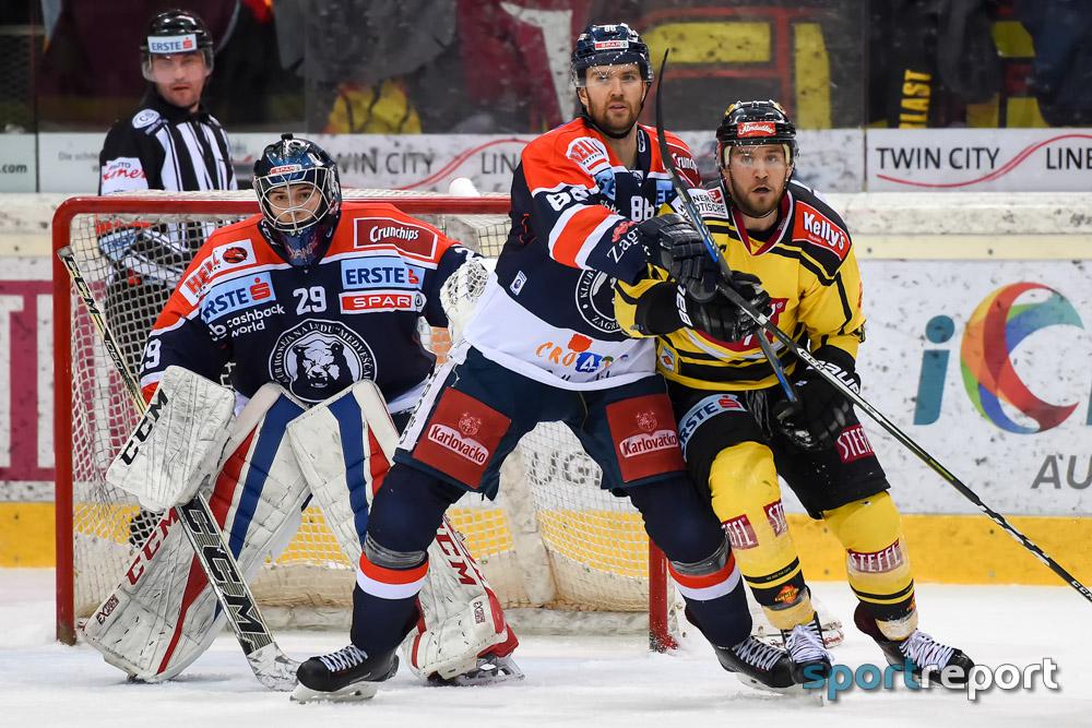Eishockey, EBEL, Erste Bank Eishockey Liga, EBEL, Vienna Capitals, Albert-Schultz-Halle, Pick Round, Medvescak Zagreb, Vienna Capitals vs. Medvescak Zagreb