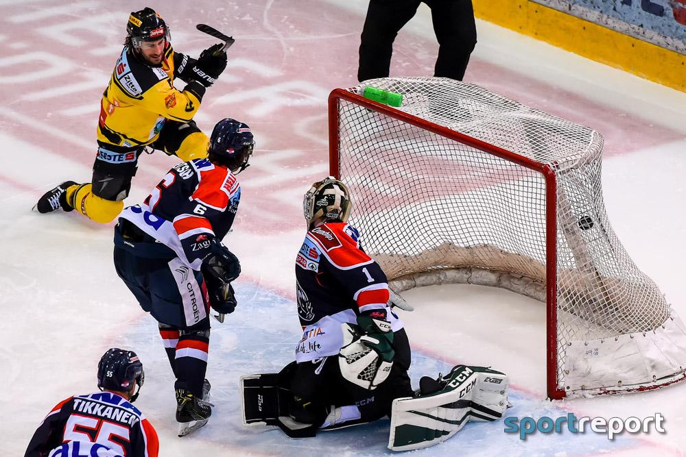 Eishockey, EBEL, Erste Bank Eishockey Liga, Vienna Capitals, Medvescak Zagreb