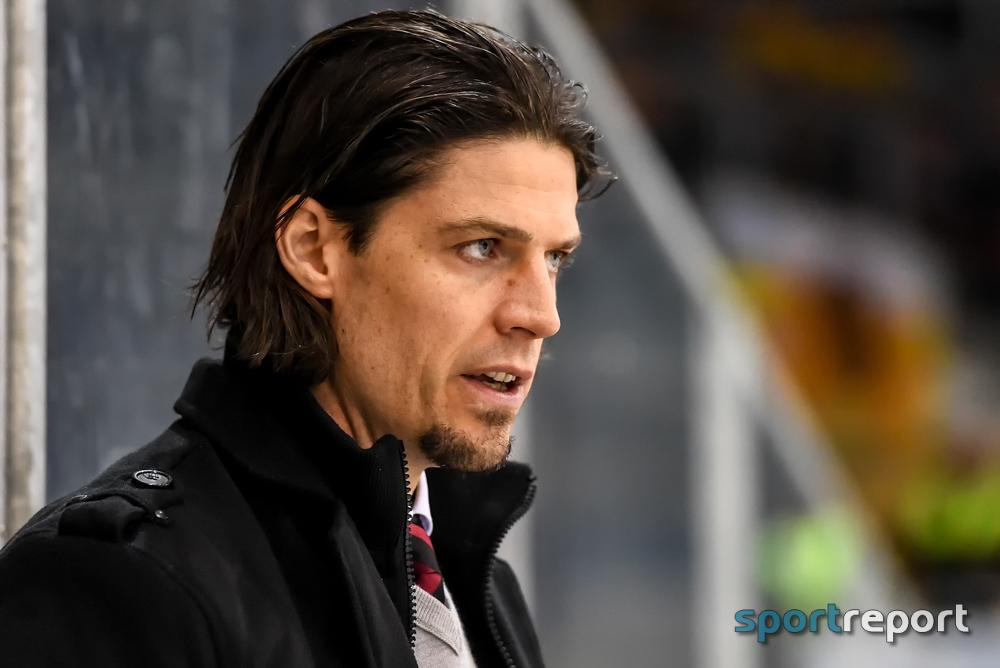 Eishockey, EBEL, KAC, Christoph Brandner, Jarno Mensonen, Erste Bank Eishockey Liga