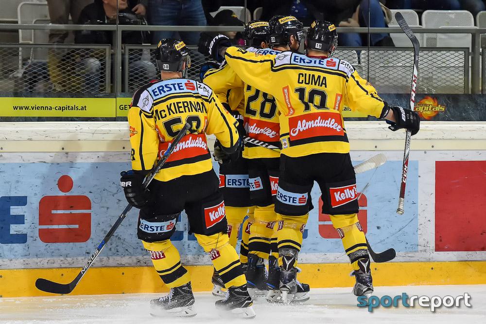 Eishockey, EBEL, Erste Bank Eishockey Liga, Vienna Capitals, KAC, Vienna Capitals vs. KAC, Albert-Schultz Eishalle, Pick Round
