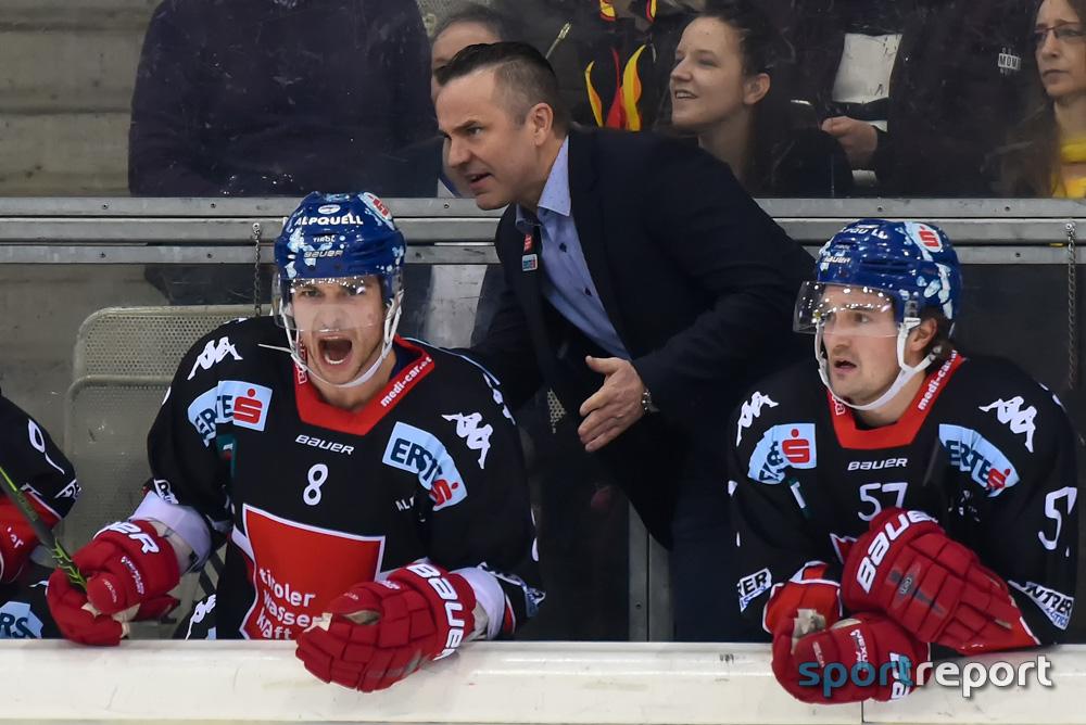 Eishockey, EBEL, Erste Bank Eishockey Liga, HC Innsbruck, Vienna Capitals