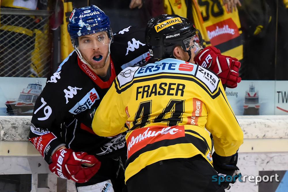 Vienna Capitals nehmen erneut die Hürde HC Innsbruck
