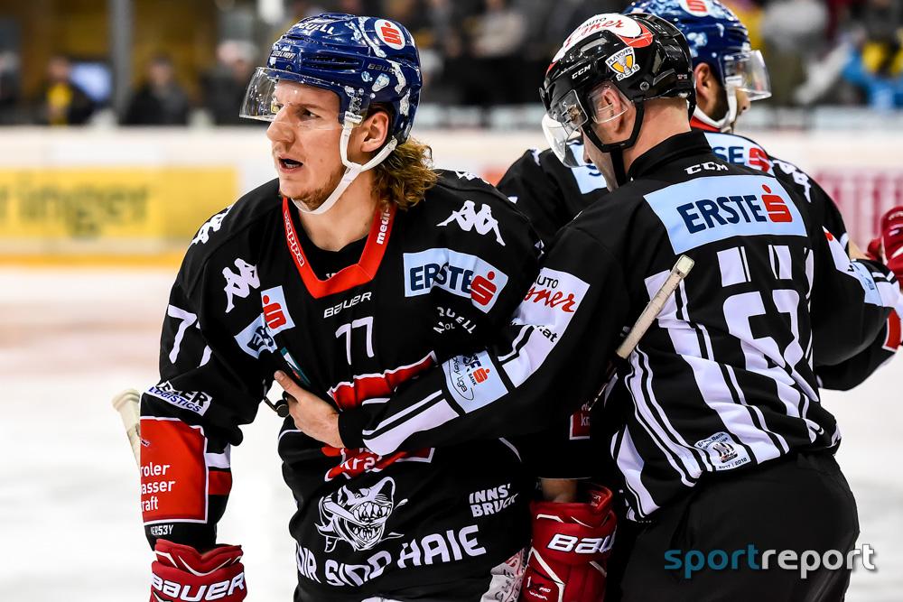 Eishockey, EBEL, HC Innsbruck, Lubomir Stach, Philipp Lindner