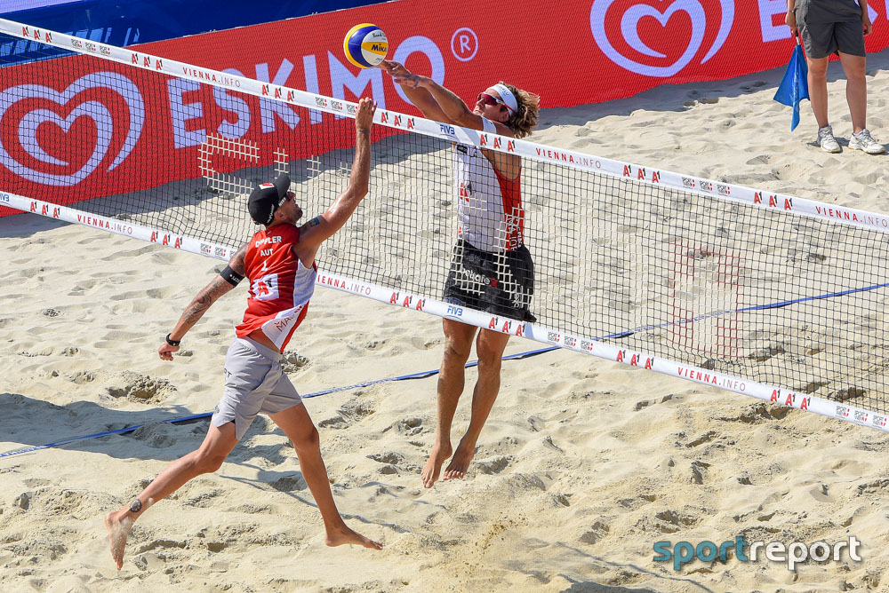 FIVB, Beach Volleyball, Weltmeisterschaft, Hamburg - Foto © Sportreport