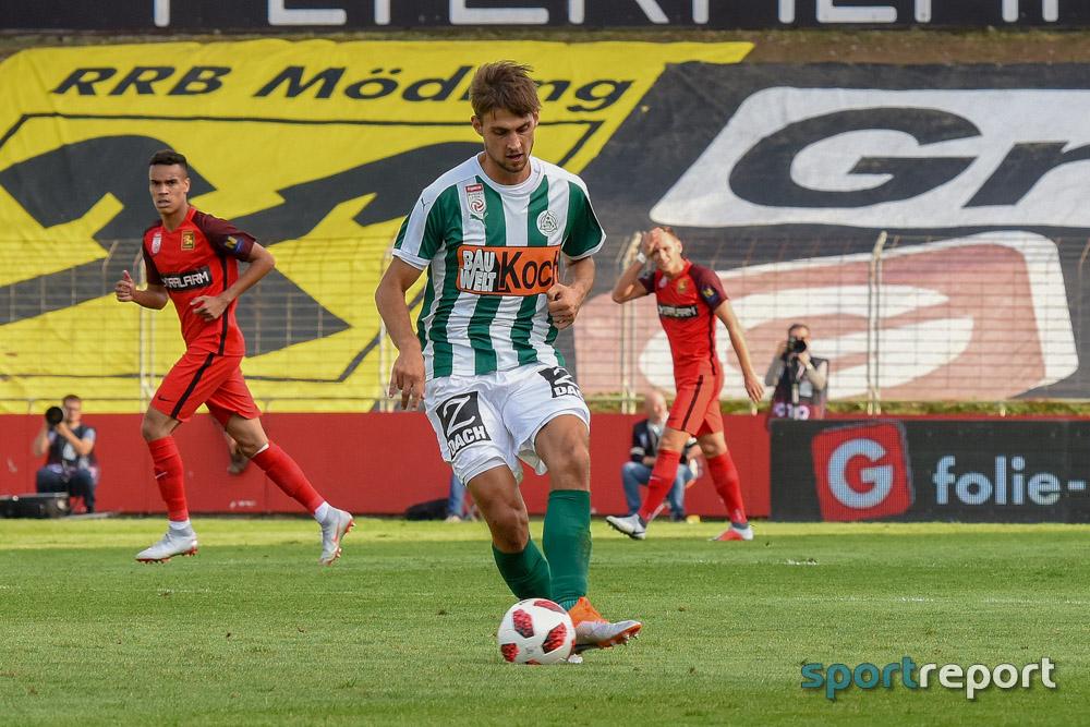 Turbulentes Unentschieden im Nachzüglerduell SV Mattersburg gegen Admira
