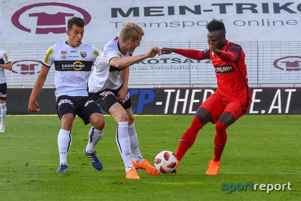 Vier Tore, aber kein Sieger bei SCR Altach gegen Admira