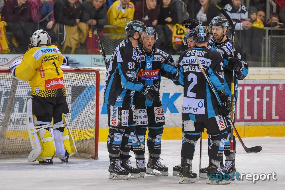 Vienna Capitals müssen sich Black Wings Linz in Overtime geschlagen geben
