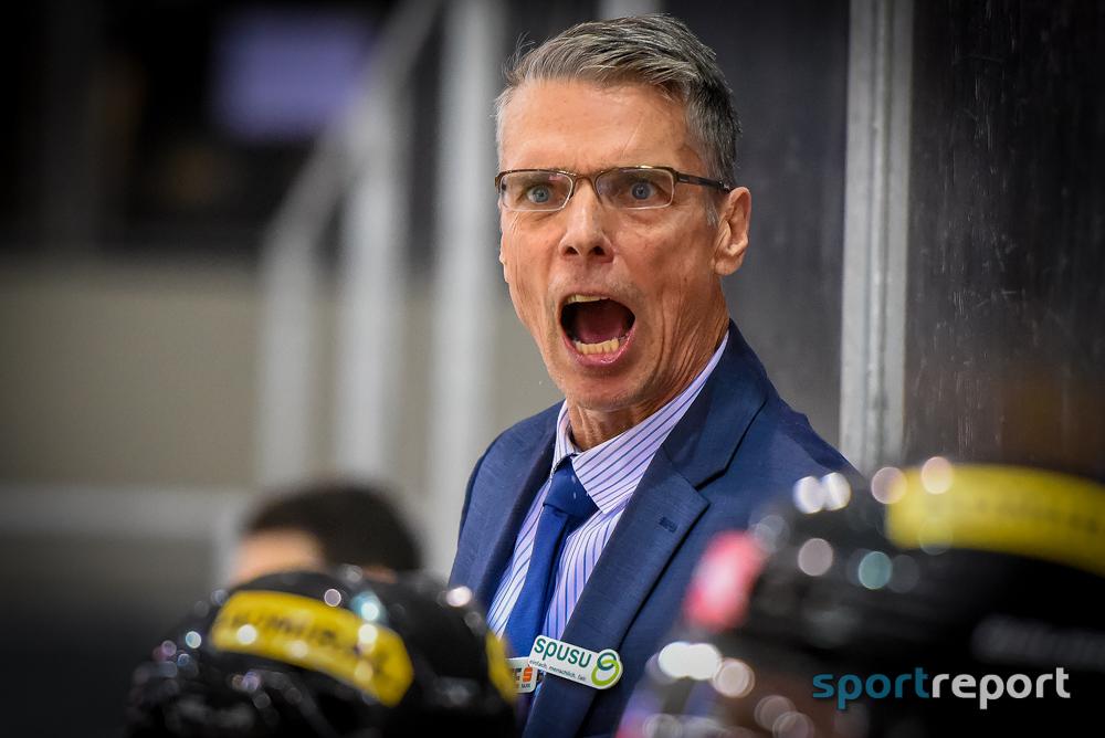 """Dave Cameron (Trainer Vienna Capitals): """"Es war ein großartiges Spiel"""