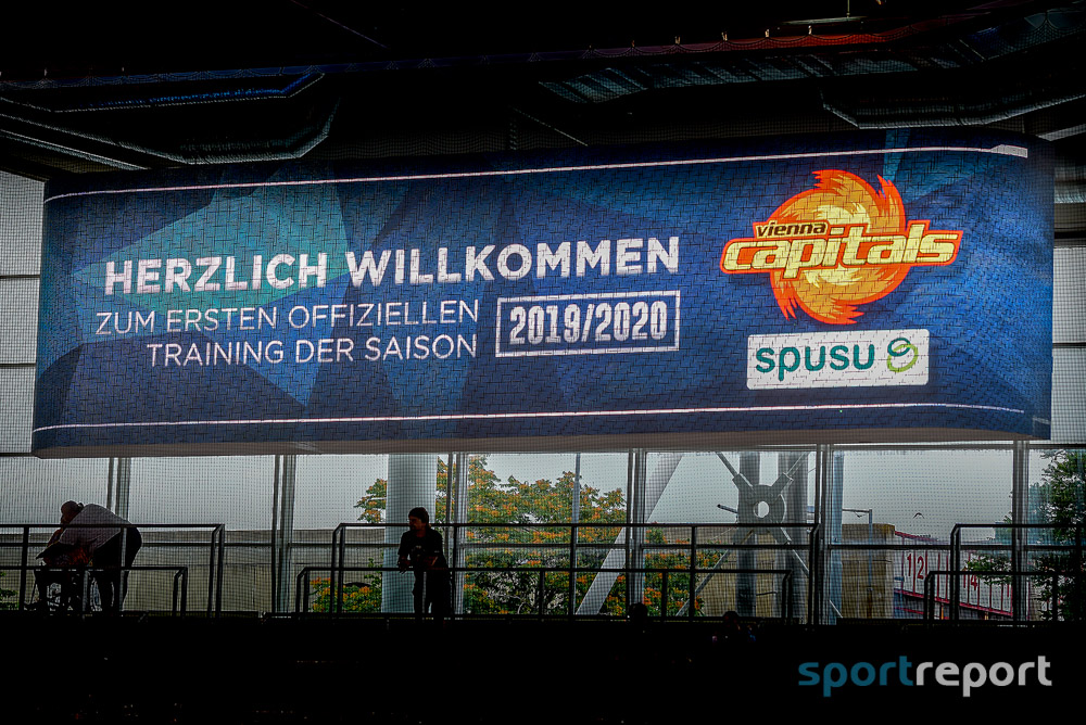 EBEL, Eistraining, Vienna Capitals - Foto © Sportreport