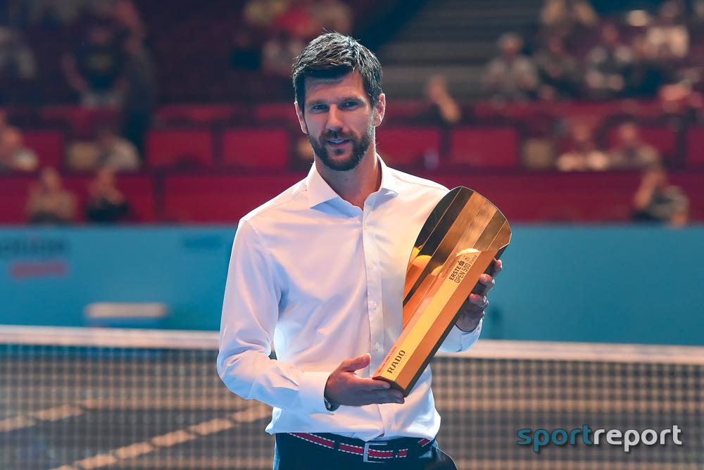 """Der zweifache Wien-Triumphator Jürgen Melzer wurde in die """"Hall of Fame"""" der Erste Bank Open aufgenommen – Dennis Novak kürte sich zum """"Schnitzel-König"""""""