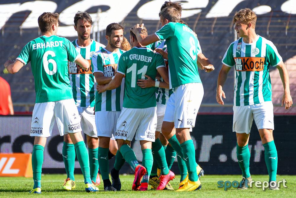 SV Mattersburg nach Sieg gegen SKN St Pölten auf Platz 3 der Quali-Gruppe
