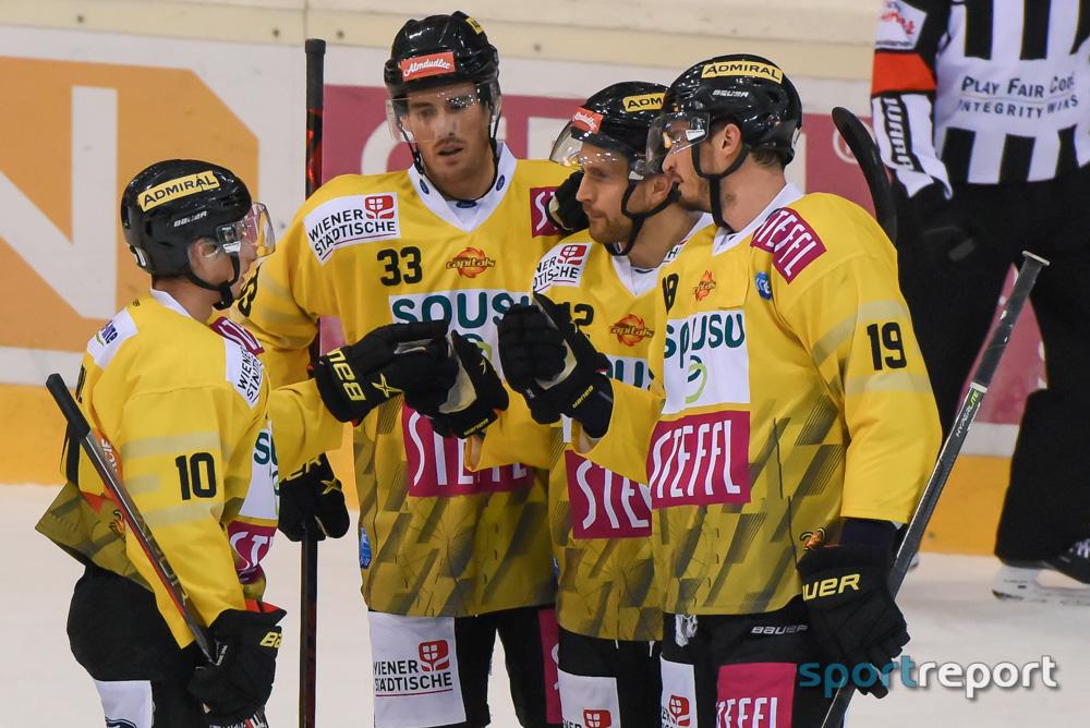 Eishockey, Österreich, bet-at-home ICE Hockey League, Vienna Capitals, HC Pustertal,