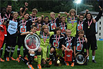 Schülerliga Bundesfinale 2011 - Maroltingergasse feiert den Titel © Schülerliga