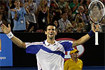 Novak Djokovic © globalite, Creative Commons License