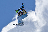 Flo Orley (Freeride Snowboard) © Freeride World Tour, D. Daher