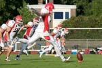American Footballball, GFL, Lübeck Cougars, Dresden Monchars