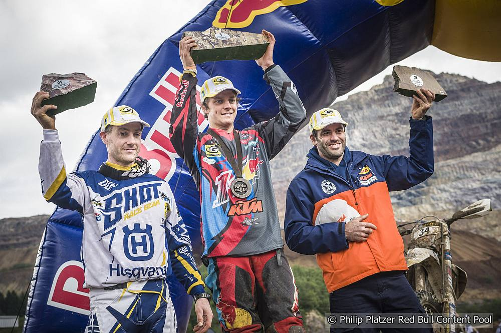 Die Elite des Xtreme Endurosports am Start des Erzbergrodeo 2018