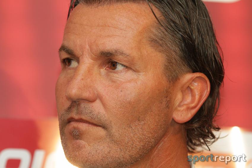 """Gerald Baumgartner (Trainer SV Mattersburg): """"Wir haben zwei Tore geschossen und trotzdem nur 1:1 gespielt."""""""