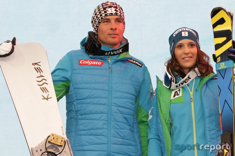 Benjamin Karl und Sabine Schöffmann mit Podestplätzen bei Weltcup-PGS in Cortina d'Ampezzo
