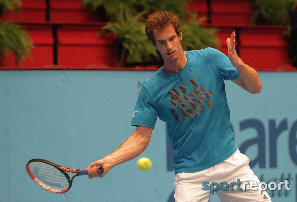 Tennis, Andy Murray, Andreas Seppi, Dominic Thiem, Erste Bank Open, Erste Bank Open 500, Wien, Wiener Stadthalle, Ivo Karlovic, Thomas Berdych