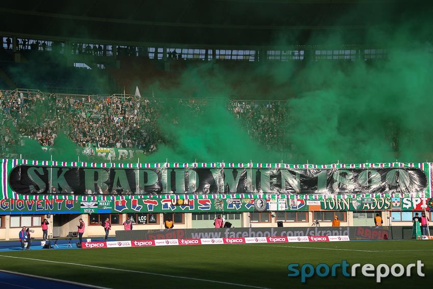 Fußball, Bundesliga, Tipico Bundesliga, Rapid Wien, Geburtstag, 118 jahre