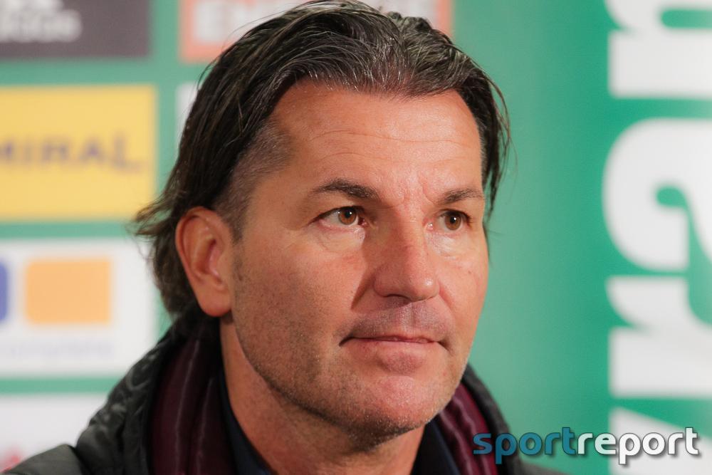 """Gerald Baumgartner (Trainer SV Mattersburg): """"In unserer Situation ist das natürlich überragend."""""""