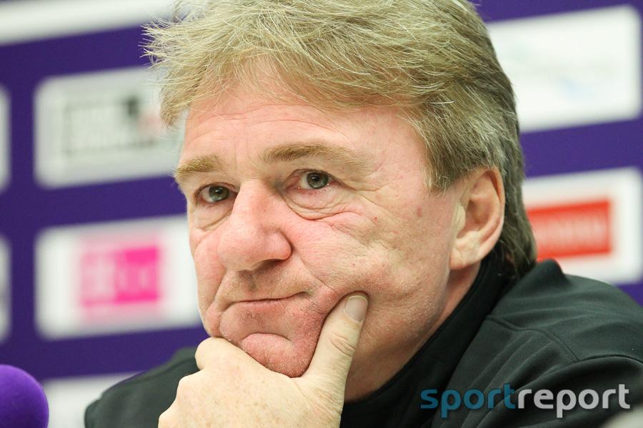 Andi Ogris vor dem Spiel gegen Austria Klagenfurt: