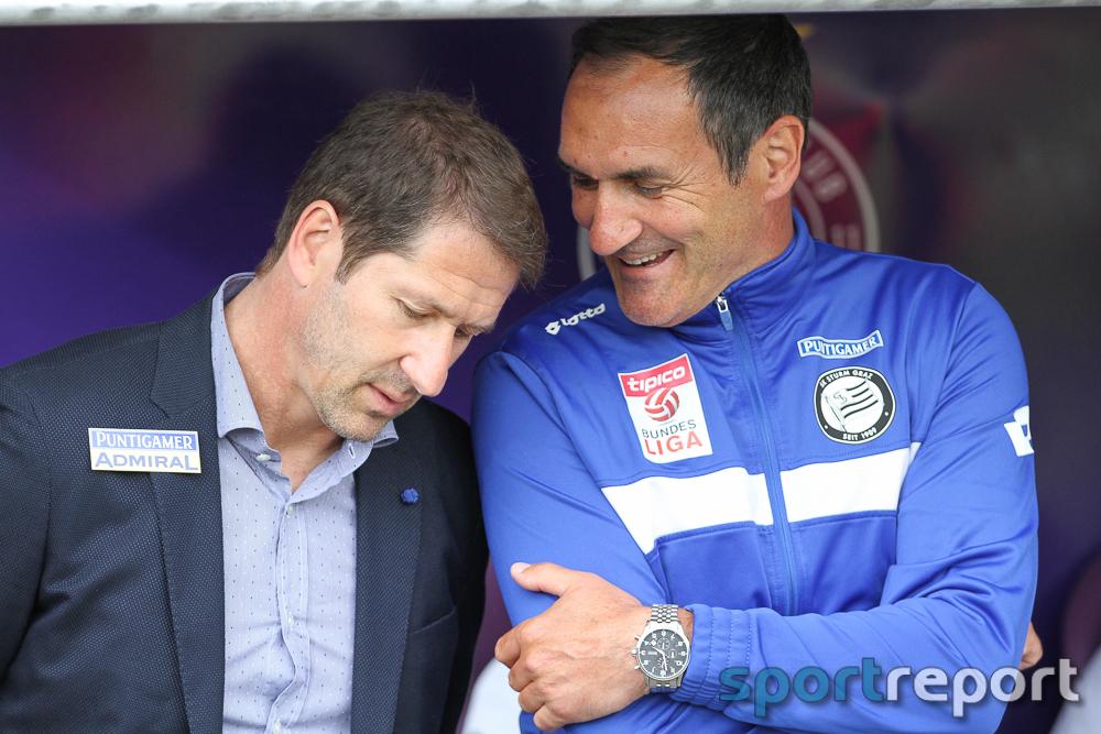"""Franco Foda (Trainer SK Sturm Graz): """"Wir haben unsere Aufgabe erledigt und sind international dabei."""""""