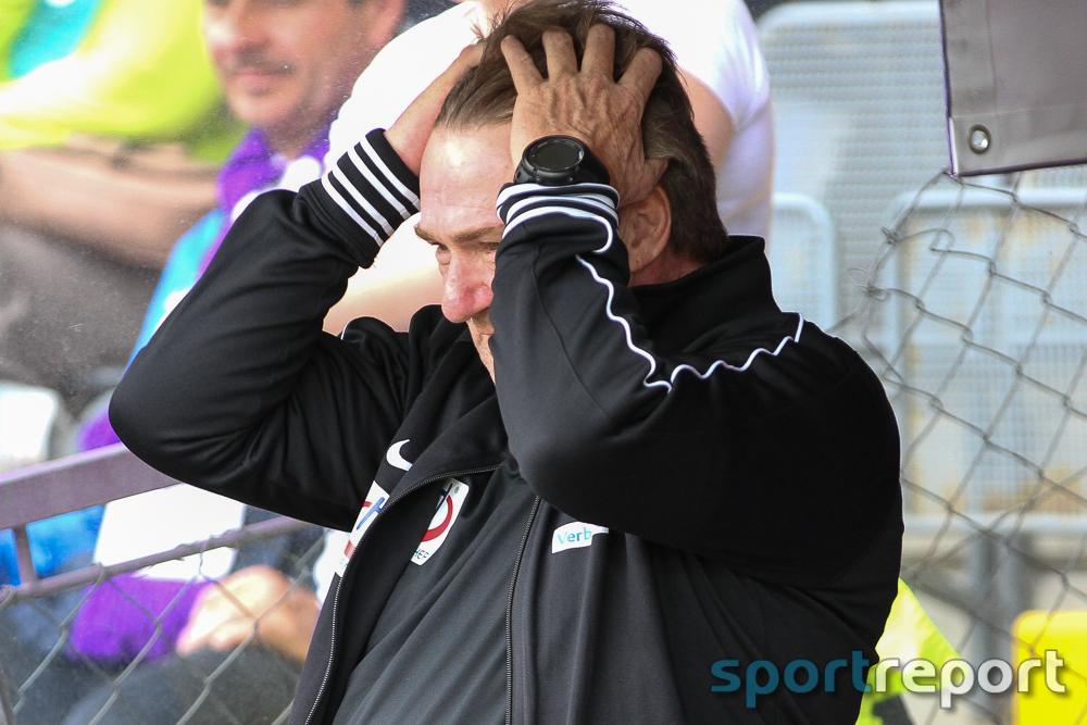 Andreas Ogris (Trainer Young Violets) mit sofortiger Wirkung von seinen Aufgaben freigestellt