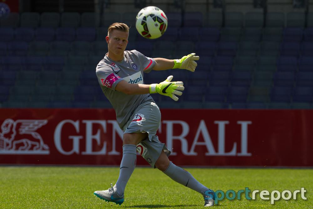 Austria Wien Goalie Pentz schenkt Sturm Graz Auswärtssieg
