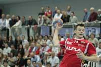 Handball, HLA, Handball Liga Austria, ALPLA HC Hard, Petr Hrachovec, SC kelag Ferlach, Dominik Schmidt
