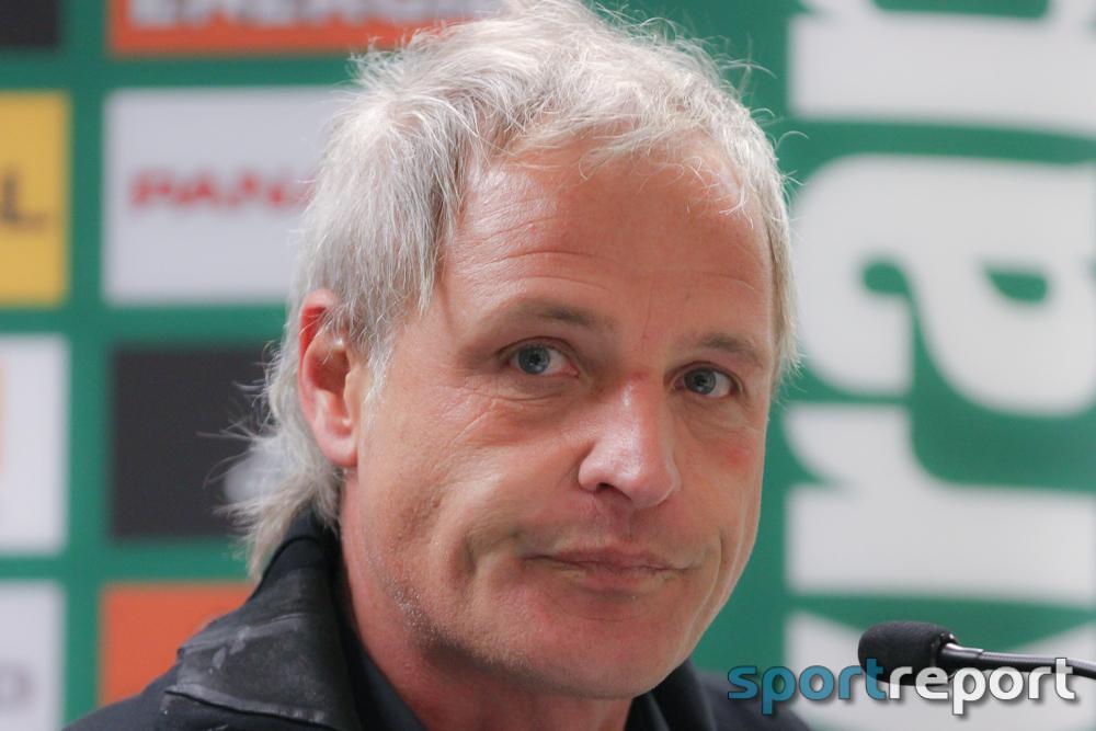 """Heimo Pfeifenberger (Trainer WAC): """"Es ist natürlich schon bitter, weil wir das Spiel klar dominiert haben."""""""