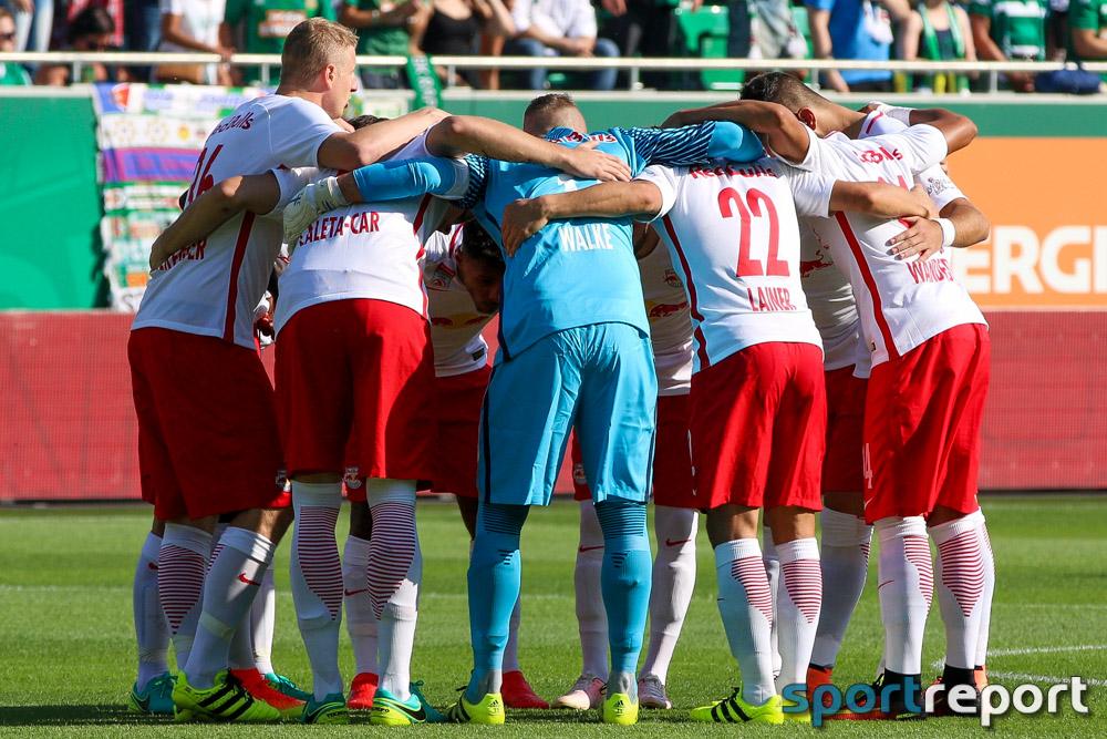 Fußball, Österreich, Tipico Bundesliga, 31. Runde, Red Bull Salzburg, SV Ried, Oscar Garcia, Wanderson