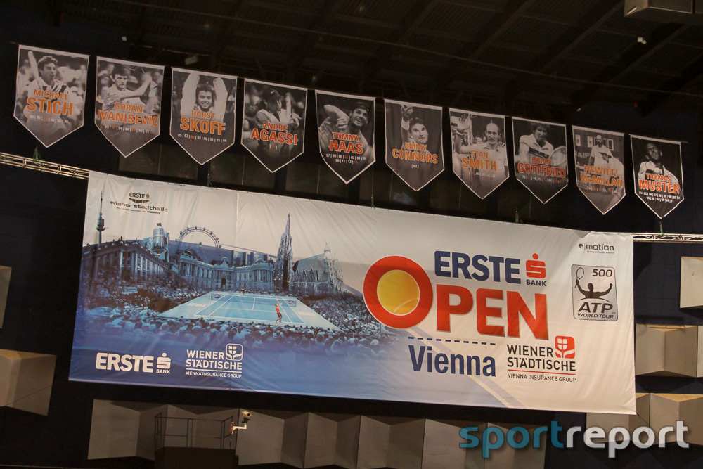 Die Prominenz erobert den Tennishimmel beim Erste Bank Open 500